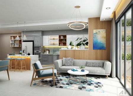 Cho thuê căn hộ chung cư sky central 176 Định Công., 76m2, 2 phòng ngủ,