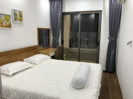 Cho thuê chung cư kingdom nhà mới xinh, 76m2, 2 phòng ngủ, 2 toilet