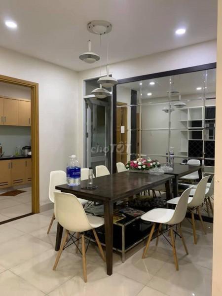 Cho thuê căn hộ chung cư cao cấp Him Lam Chợ Lớn 82m2 căn 2PN, đầy đủ nội thất, 82m2, 2 phòng ngủ, 2 toilet