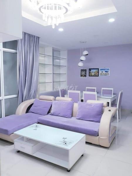 Cho thuê căn hộ chung cư Him Lam Chợ Lớn đường Hậu Giang Quận 6. 14 triệu/tháng Full nội thất, 86m2, 2 phòng ngủ, 2 toilet