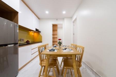 Cho thuê căn hộ quận 10 2 phòng ngủ Full nội thất, 76m2, 2 phòng ngủ, 2 toilet