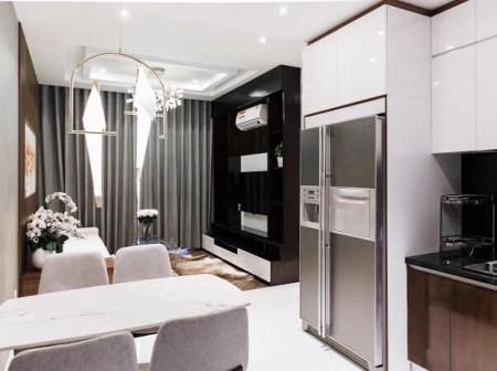 Chung cư Kingdom cho thuê 2 phòng ngủ Full nội thất, 76m2, 2 phòng ngủ, 2 toilet