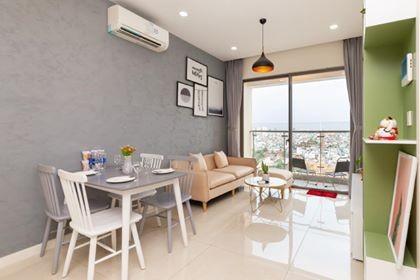 Có căn hộ trống cần cho thuê 7.5 triệu/tháng, có sẵn nội thất, cc Starlight Riverside, dtsd 72m2, 72m2, 2 phòng ngủ, 2 toilet