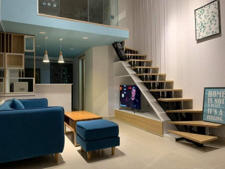 Cho thuê căn hộ officetel La Astoria 3 View LM81 & sông Dt 42m2 thiết kế có lững, nhà có đủ Nội thất như hình. O9I886O3, 42m2, 1 phòng ngủ, 1 toilet