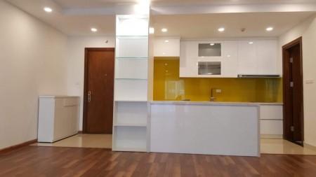 Cho thuê căn hộ 3 ngủ làm văn phòng tại chung cư GoldMark, 110m2, 3 phòng ngủ, 2 toilet