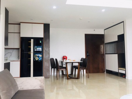 Cho thuê căn hộ 2 ngủ tầng 18 đồ cơ bản làm văn phòng Vinhome Trần Duy Hưng, 70m2, 2 phòng ngủ, 2 toilet