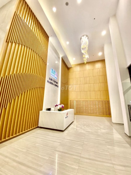 Cho thuê căn hộ cao cấp tại Thị Xã Thuận An Bình Dương thuộc dự án chung cư Marina Tower, 53m2, 1 phòng ngủ, 1 toilet