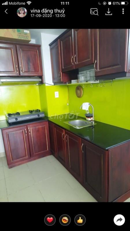 Cho thuê căn hộ trong chung cư Phú Cường mới đẹp giá thuê 5 triệu, 40m2 1PN có nội thất, 40m2, 1 phòng ngủ, 1 toilet