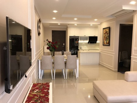 Cho thuê căn hộ 3 phòng ngủ thuộc chung cư Tresor Quận 4, cho thuê 17 triệu/tháng, 10m2, 3 phòng ngủ, 2 toilet