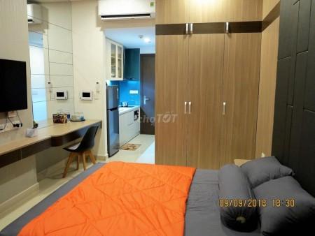 Cho thuê căn hộ bé bé xinh xinh tại Quận 4 thuộc cc The Tresor, 28m2, 1PN. Liên hệ 0938886404, 28m2, 1 phòng ngủ, 1 toilet