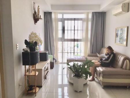 Cho thuê căn hộ chung cư Sacomreal 584, căn rộng với diện tích 105m2 có 3 phòng ngủ. Giá thuê 9 triệu/tháng, 105m2, 3 phòng ngủ, 2 toilet