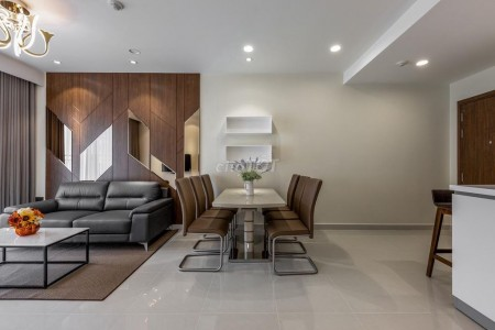 Cho thuê căn hộ cao cấp 90m2, 3 phòng ngủ, thuộc dự án New City Quận 2, đầy đủ nội thất cao cấp., 90m2, 3 phòng ngủ, 2 toilet