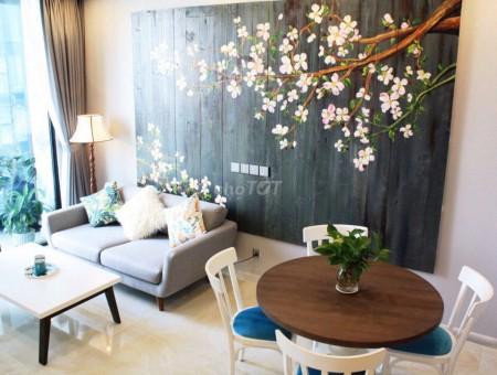 Căn hộ chung cư Vinhomes Golden River Ba Son, 80m2, 2PN, 2WC giá cho thuê 18 triệu đủ nội thất, 80m2, 2 phòng ngủ, 2 toilet