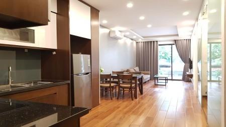Cho thuê căn hộ dịch vụ tại Âu Cơ, Tây Hồ, 70m2, 2PN, đầy đủ nội thất mới hiện đại, 70m2, 2 phòng ngủ, 1 toilet