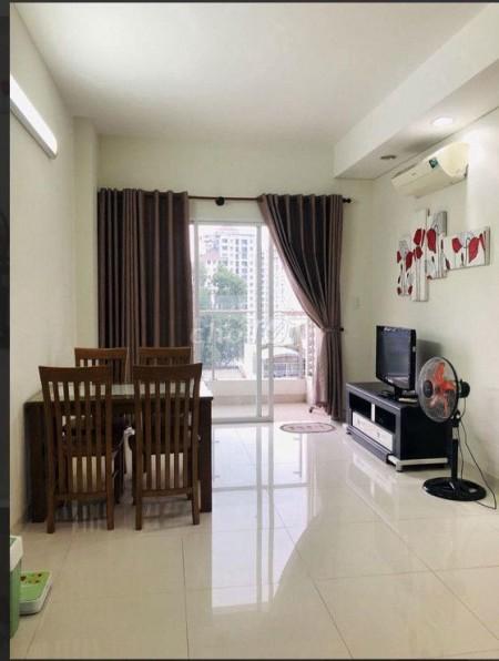 Cho thuê căn hộ Hoa Sen quận 11, căn 67m2 có 2PN 2WC, đầy đủ nội thất giá 9 triệu/tháng, 67m2, 2 phòng ngủ, 2 toilet
