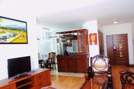 Cần cho thuê căn hộ 3 phòng ngủ với tổng diện tích là 141m2 tại chung cư Đất Phương Nam, Chu Văn An Bình Thạnh, 141m2, 3 phòng ngủ, 2 toilet