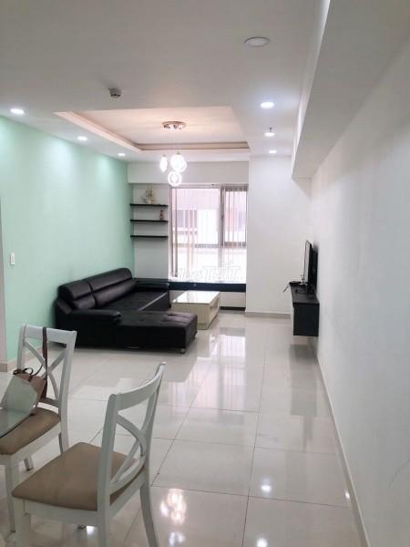 Cho thuê căn hộ chung cư mới, đầy đủ nội thất, 2 phòng ngủ tại dự án Luxcity Quận 7, 75m2, 2 phòng ngủ, 1 toilet