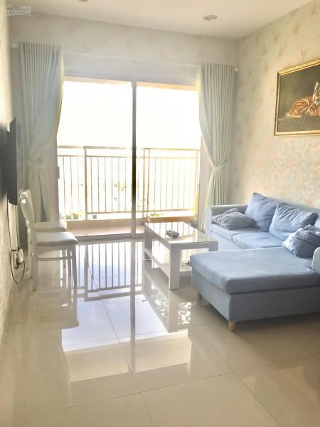 Viva Võ Văn Kiệt, Quận 6 cần cho thuê căn hộ rộng 80m2, 2 PN, có sẵn đồ, giá 12 triệu/tháng, 80m2, 2 phòng ngủ, 2 toilet