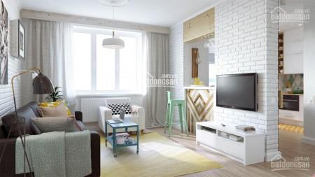 Block Glory cc Richmond cần cho thuê căn hộ 52m2, 2 PN, còn mới, giá 7 triệu/tháng, 52m2, 2 phòng ngủ, 1 toilet