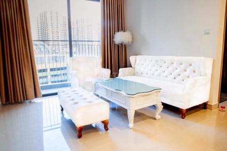 Căn hộ chung cư Vinhomes Ocean Park Gia Lâm Hà Nội, 55m2, 2PN, Full nội thất cho thuê giá 7 triệu/tháng, 55m2, 2 phòng ngủ, 1 toilet
