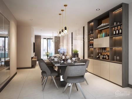 Căn hộ 1 PN, tầng cao, dtsd 61m2, có sẵn đồ dùng, cc Hado Centrosa Garden, giá 15 triệu/tháng, 61m2, 1 phòng ngủ, 1 toilet