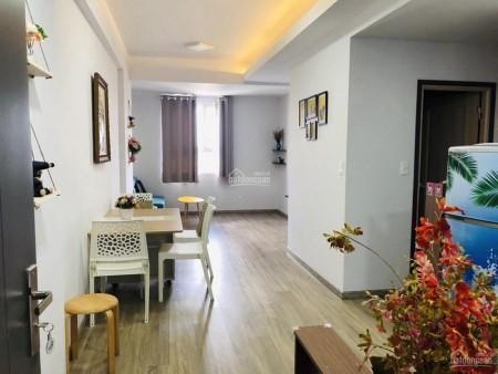 Căn hộ sàn gỗ cao cấp rộng 75m2, 3 PN, vào ở ngay, cc Sky 9, giá 8.5 triệu/tháng, 75m2, 3 phòng ngủ, 2 toilet