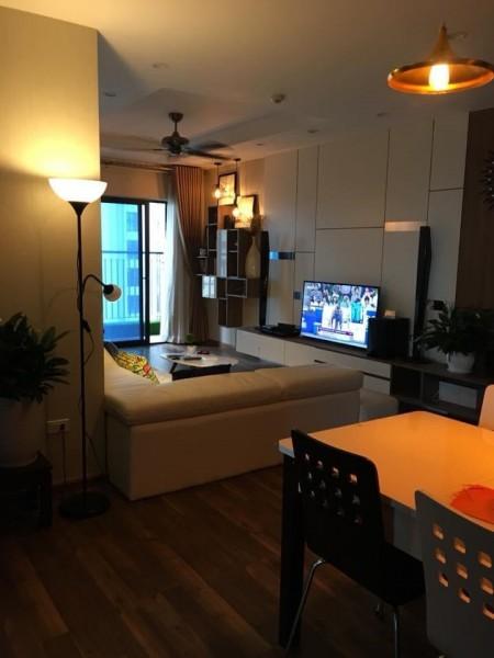 Chính chủ cần cho thuê căn hộ chung cư Goldmark City, 80m2, 2 phòng ngủ, 2 toilet