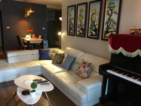 Cho thuê căn hộ chung cư Goldmark City toà R2 căn 2PN full đồ giá 11 triệu., 84m2, 2 phòng ngủ, 2 toilet