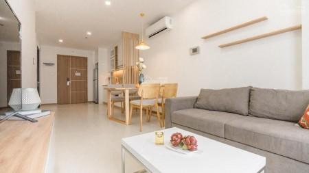 Cần cho thuê gấp căn hộ 1 phòng ngủ, đầy đủ nội thất, có ban công có bồn tấm nằm giá thuê 12 triệu, 52m2, 1 phòng ngủ, 1 toilet