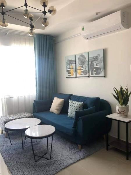 Căn hộ tầng trung 2PN 2WC 65m2 chung cư Tecco nội thất đầy đủ view nội khu, 65m2, 2 phòng ngủ, 2 toilet