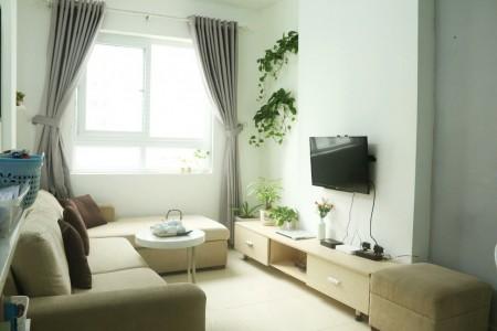 Chủ nhà nhờ cho thuê căn hộ 52m2 2PN 1WC chung cư Topaz đầy đủ nội thất view hồ bơi, 52m2, 2 phòng ngủ, 1 toilet