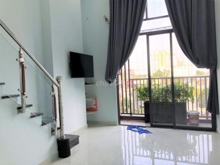 Cho thuê căn hộ 48m2 1 phòng ngủ, nội thất đầy đủ tại dự án chung cư Sky 9, 48m2, 1 phòng ngủ, 1 toilet