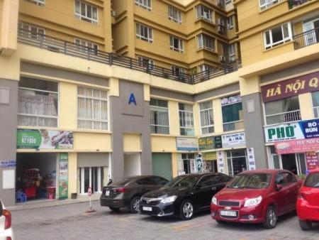 Cho thuê 2 căn chung cư Petroland 80m2 nhà trống Giá thuê 6tr/tháng 0914.392.070, 80m2, 2 phòng ngủ, 2 toilet