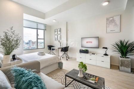 Cho thuê căn hộ OFFICETEL 1pn 32m2 tại chung cư Masteri Millennium Bến Văn Đồn Quận 4, 32m2, 1 phòng ngủ, 1 toilet