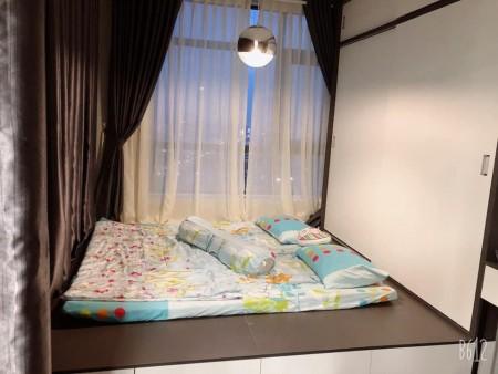 Căn hộ 1pn đủ nội thất Ngay trung tâm Q2, cạnh trường học Quốc Tế. 56m2, bancon rộng. O9I886O3O4, 56m2, 1 phòng ngủ, 1 toilet