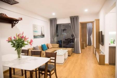 Cho thuê căn hộ cao cấp Amber Riverside 622 Minh khai, 74m2, 2 phòng ngủ,