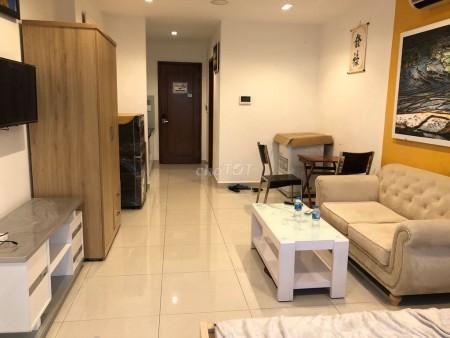 Chính chủ cần cho thuê căn hộ chung cư 1 phòng ngủ, nội thất đầy đủ, nhà mới, 42m2, 1 phòng ngủ, 1 toilet