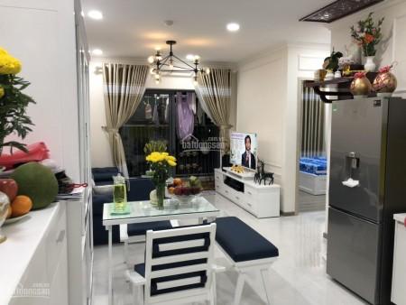 Trống căn hộ tầng cao, đủ đồ dùng, cc Viva Riverside cho thuê giá 13 triệu/tháng, dtsd 75m2, 75m2, 2 phòng ngủ, 2 toilet