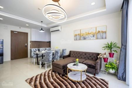 Cho thuê căn hộ tầng cao, chung cư mới Quận 4, dtsd 65m2, 2 PN, giá 15 triệu/tháng, lh 0909770115, 65m2, 2 phòng ngủ, 2 toilet