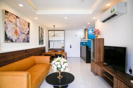 Cho thuê căn hộ Prince Phú Nhuận 3 phòng ngủ/2WC DT 94m2 tầng cao full tiện nghi y hình #19 Triệu / tháng, 94m2, 3 phòng ngủ, 2 toilet