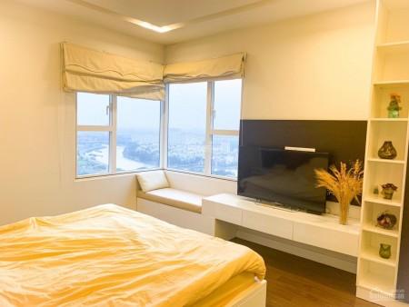 Cho thuê căn hộ rộng 125m2, 3 PN, đủ đồ dùng, cc Sunrise City, giá 17 triệu/tháng, LHCC, 125m2, 3 phòng ngủ, 2 toilet