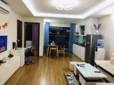 Cho thuê căn hộ B.2702 Central Point - 219 Trung Kính, Yên Hòa: 75m2, 2PN, đủ đồ đẹp, 13tr - MTG, 75m2, 2 phòng ngủ, 2 toilet