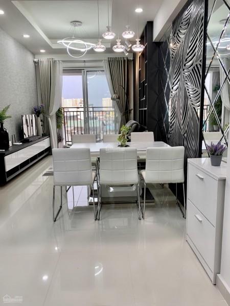 Cho thuê căn hộ rộng 90m2, có ban công, có nội thất, giá 15 triệu/tháng, cc Hado Centrosa, 90m2, 2 phòng ngủ, 2 toilet