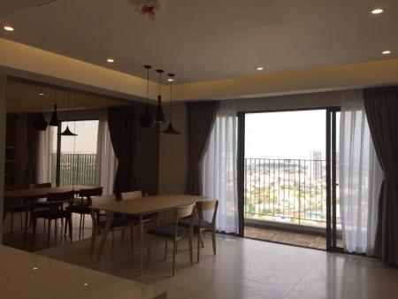 Cho thuê căn hộ Masteri, 96m2, view Xa Lộ Hà Nội, ĐỦ nội thất., 96m2, 3 phòng ngủ, 2 toilet