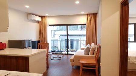 [ID: 408] Cho thuê căn hộ dịch vụ tại Từ Hoa, Tây Hồ, 45m2, 1PN, đầy đủ nội thất mới hiện đại, 45m2, 1 phòng ngủ, 1 toilet