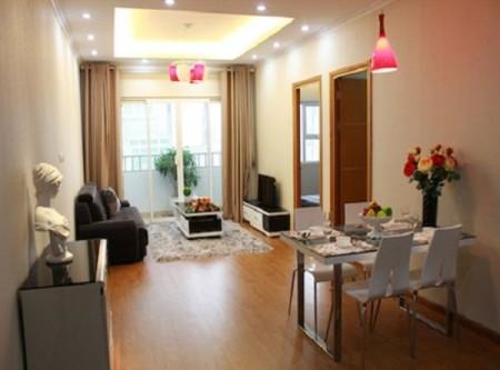 Cho thuê căn hộ tại dự án chung cư FLC Complex 36 Phạm Hùng 75m2, 2PN, 2WC, 75m2, 2 phòng ngủ, 2 toilet