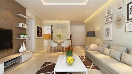Cho thuê căn hộ 97m2, 2 PN, hướng tốt, cc Him Lam Quận 6, giá 10 triệu/tháng, 97m2, 2 phòng ngủ, 2 toilet