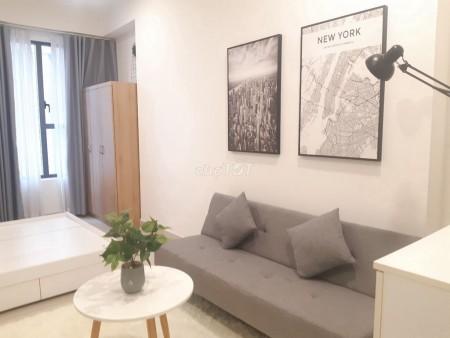 Cho thuê căn hộ chung cư The Tresor dạng stiudio, 30m2, đầy đủ tiện nghi nội thất đẹp cao cấp, 30m2, 1 phòng ngủ, 1 toilet