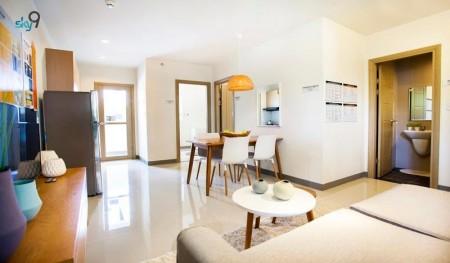 Cho thuê chung cư Sky 9 50m 2PN, vòng xoay Liên Phường, Q9, 50m2, 2 phòng ngủ, 1 toilet