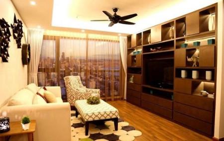 Cho thuê căn hộ chung cư FLC Twin Towers,120m2, 3PN, 2WC, Nội thất cơ bản, Giá 14 triệu/tháng, 120m2, 3 phòng ngủ, 2 toilet